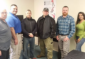 USCCA Firearm Instructors at certification class in Connecticut