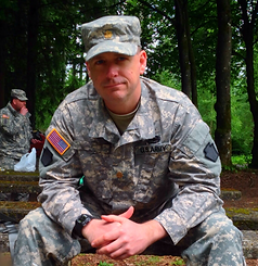 Fairfield County NRA Instructor in military uniform