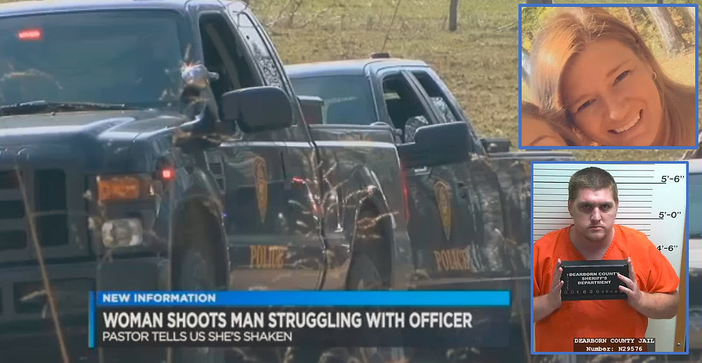 Mom Shoots Assailant to Protect Downed Police Officer Now Being Sued