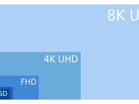 Qué es una resolución de 8K?