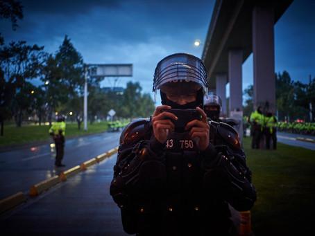 Brutalidad Policial contra la Prensa en el Paro