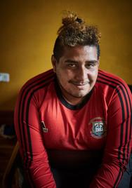 """""""Mi novio está en Panamá, espero algún día poder volver a vernos. Verlo a él y volver a ver a mi mamá y a mi hermano. Por lo pronto espero descansar y continuar el camino"""" Kendry 29."""