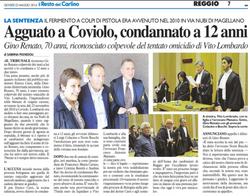 Tentato omicidio a Reggio Emilia