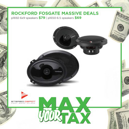 Rockford Fosgate Speakers