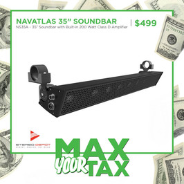 """NavAtlas 35"""" Soundbar"""