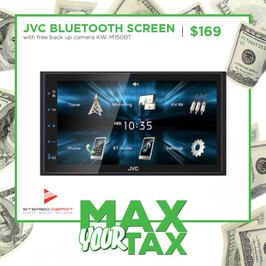 JVC Bluetooth Screen