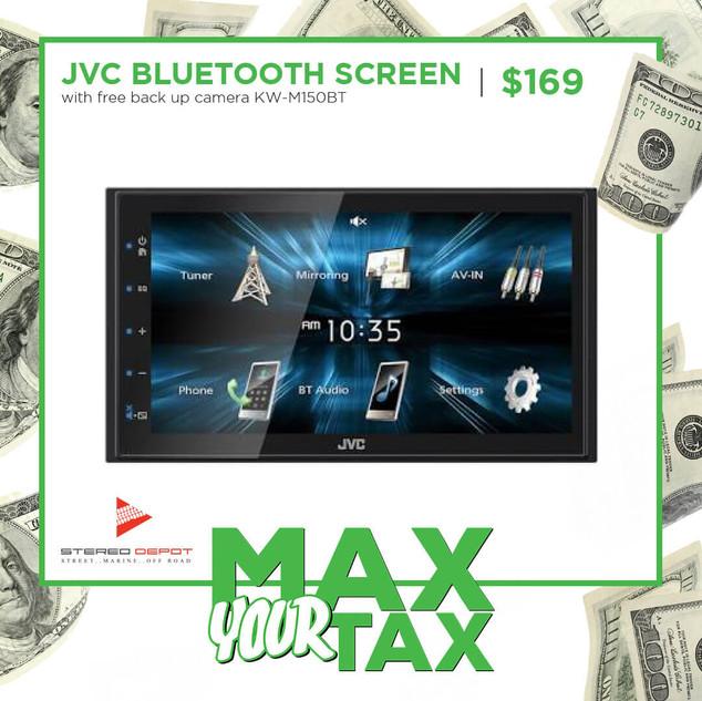 JVC Bluetooth Screen