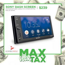 Sony Dash Screen