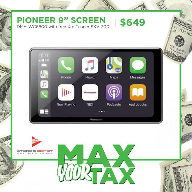 """Pioneer 9"""" Screen"""