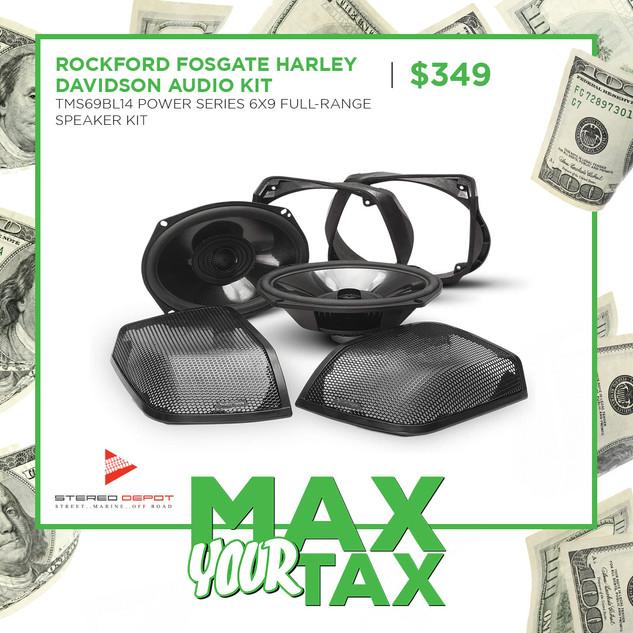 Rockford Fosgate Harley Davidson Audio K