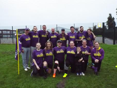 Crosby Vikings Retain the Sefton Softball League title
