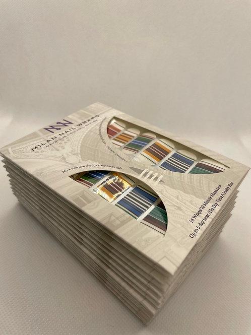 Milan Nail Wraps- Chic Trends: Stripes