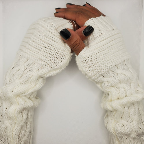 Urban Gaming Arm Warmers- Ivory