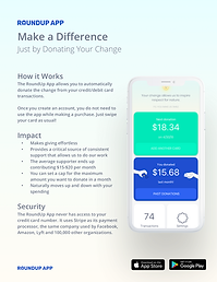 The RoundUp App Donor Guide - 8.5x11 v2.