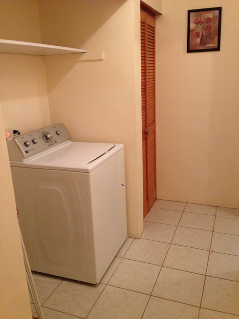 Washing Machine Included
