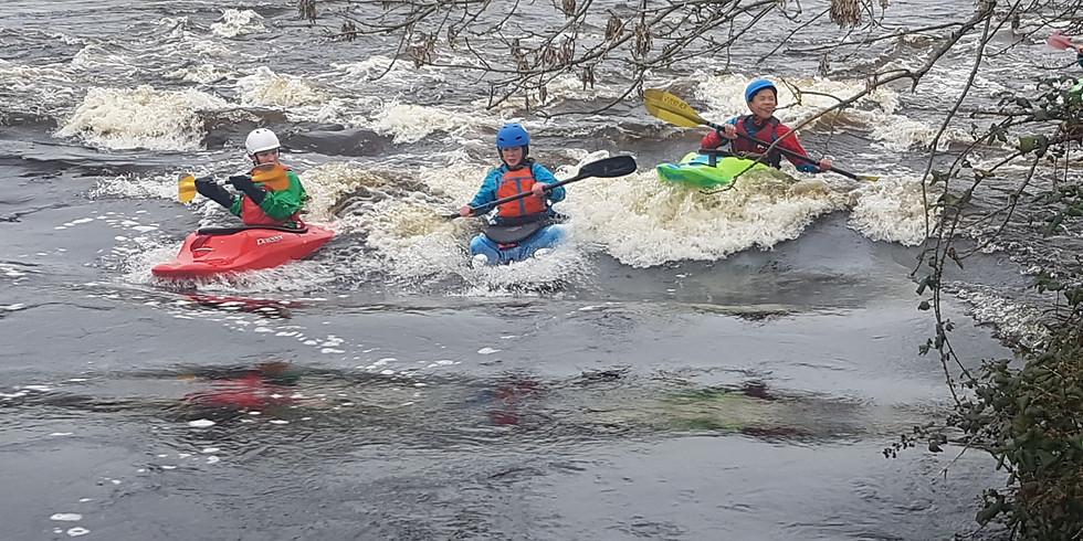 Regular Sunday morning paddle