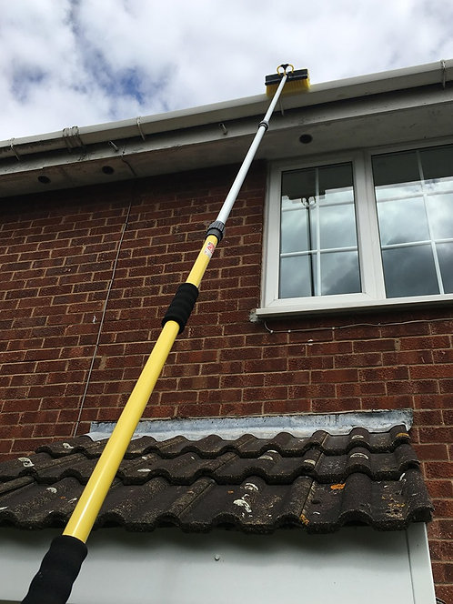 Gutter Cleaning Pole Tool, Gutter Cleaning Brush