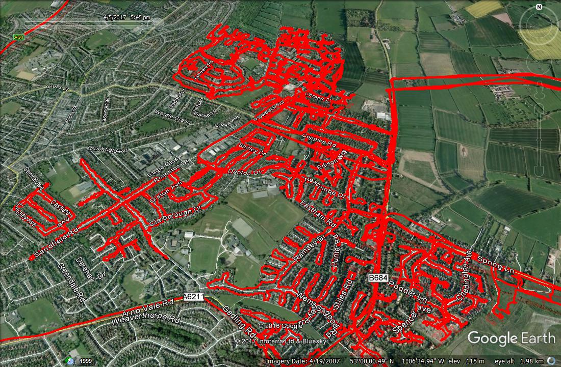 GPS Tracking Leaflet Media