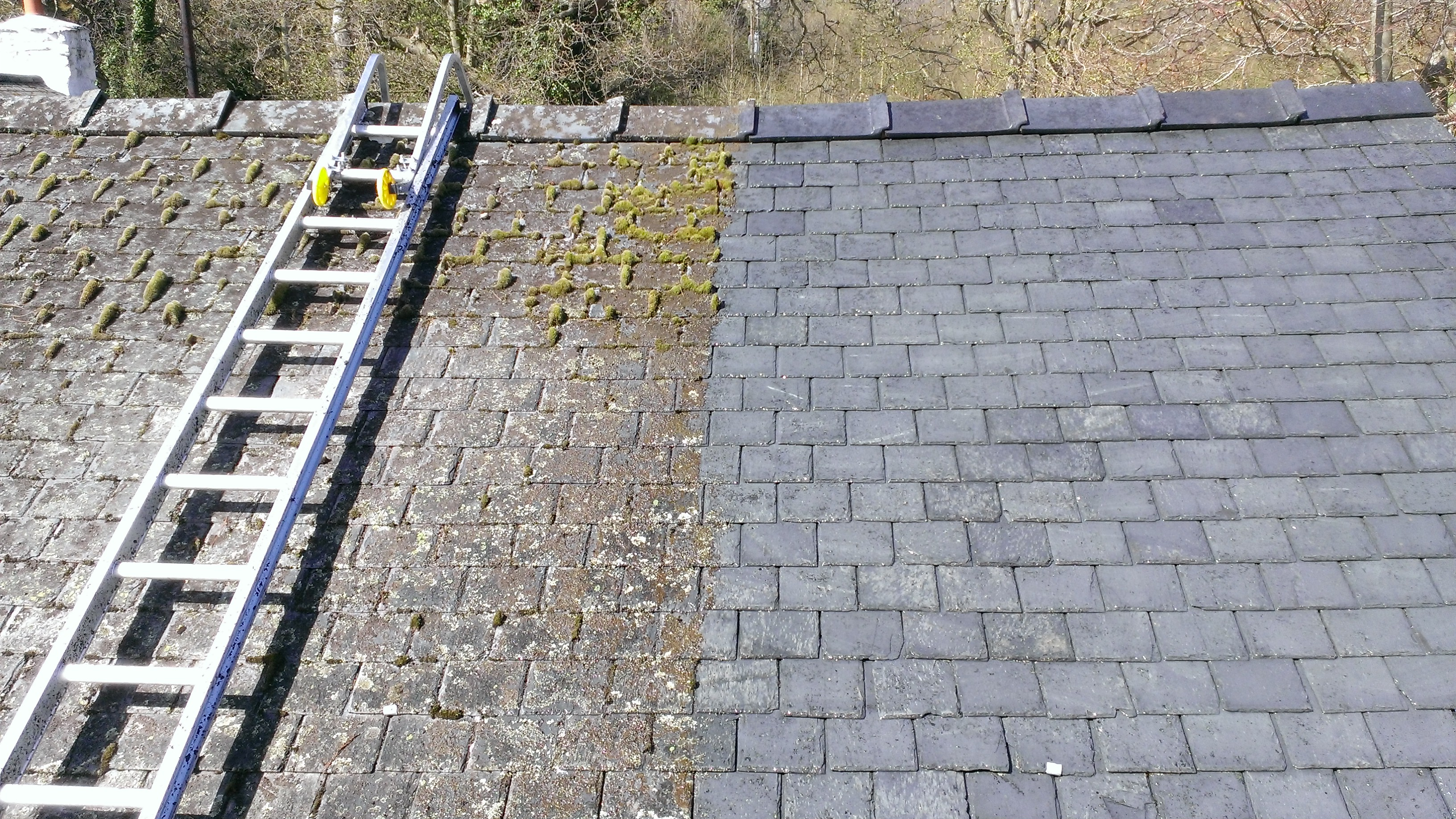 Roof Cleaning Nottingham 1