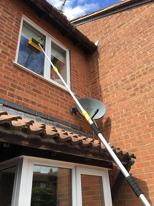 3.2M Telescopic Water Fed Window Cleaning Brush