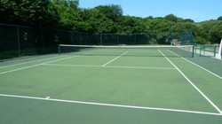 Tennis Court Cleaned in Nottingham