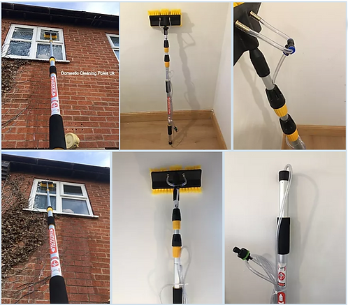Window Cleaning Kit, Window Cleaner Brush, Window Cleaning Equipment