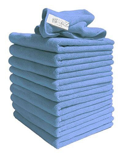 10 microfiber window cleaner cloths