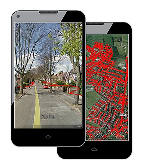 leaflet delivery gps tracked