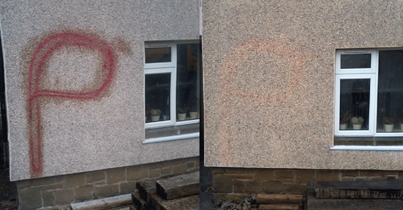 graffiti-removal Nottingham