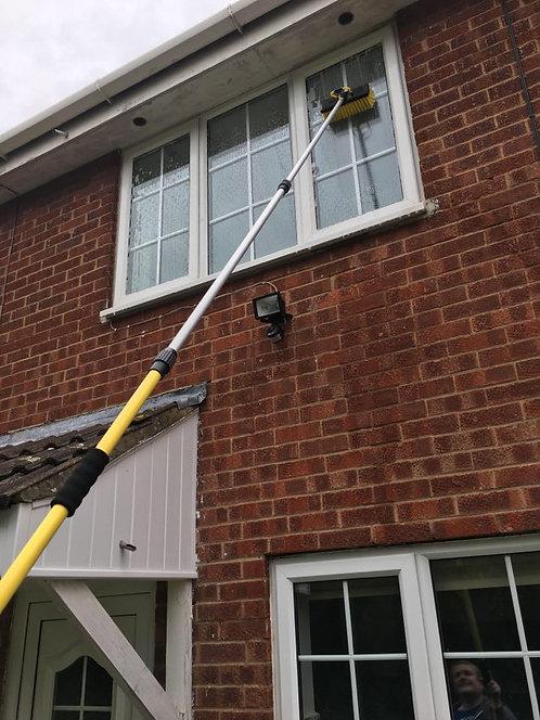3.4 Water Fed Window Cleaning Kit, Window Cleaner Pole