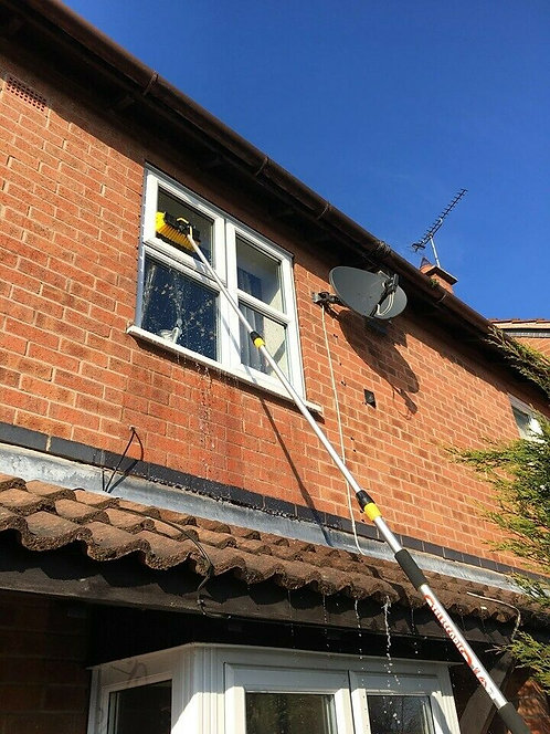 Long Window Cleaning Pole, Window Cleaning Squeegee Pole