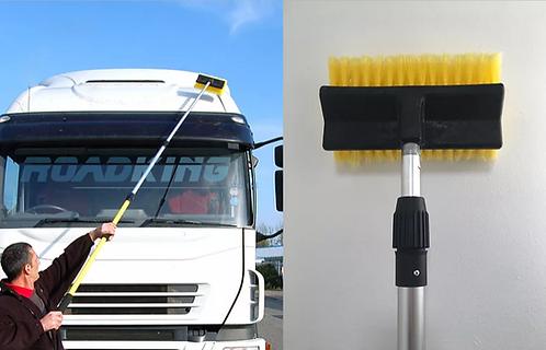 Truck, Lorry Wash Cleaning Brush, Telescopic Water Fed Brush