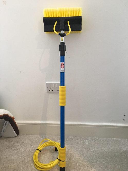 Caravan & Car Cleaning Brush, Pro Hose Fed Wash Brush