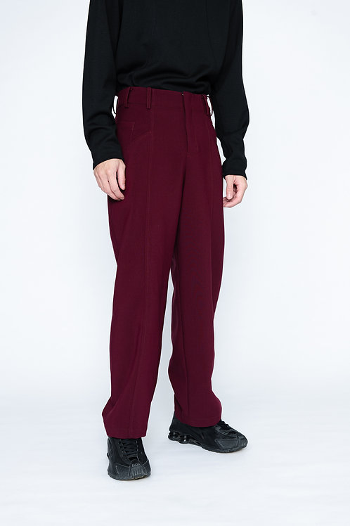 Side-zip Trousers