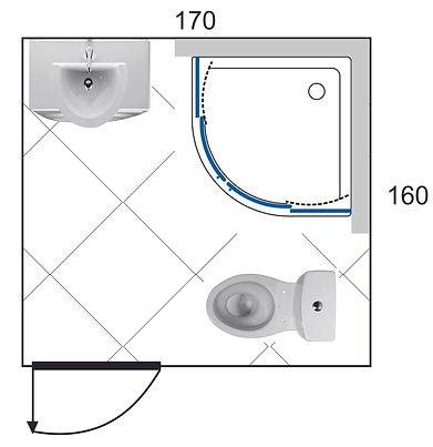 прект ванной комнаты