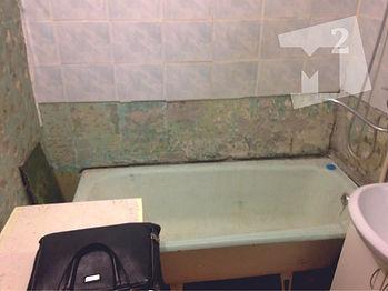 ванная комната без кафеля