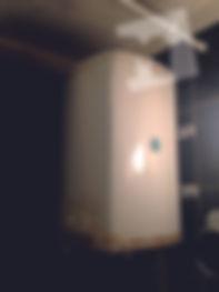 старый водонагреватель