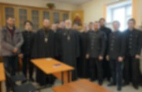 Новопашин в Барнаульской семинарии