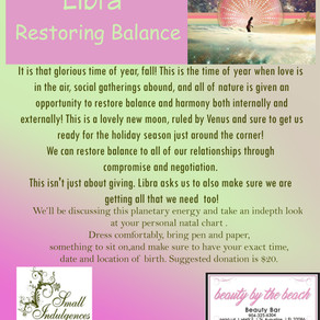 New Moon in Libra = Balance Restored!