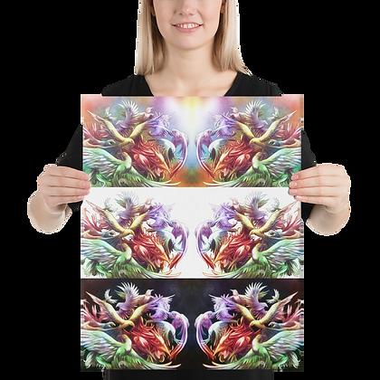 Canvas - Birds of The Rainbow