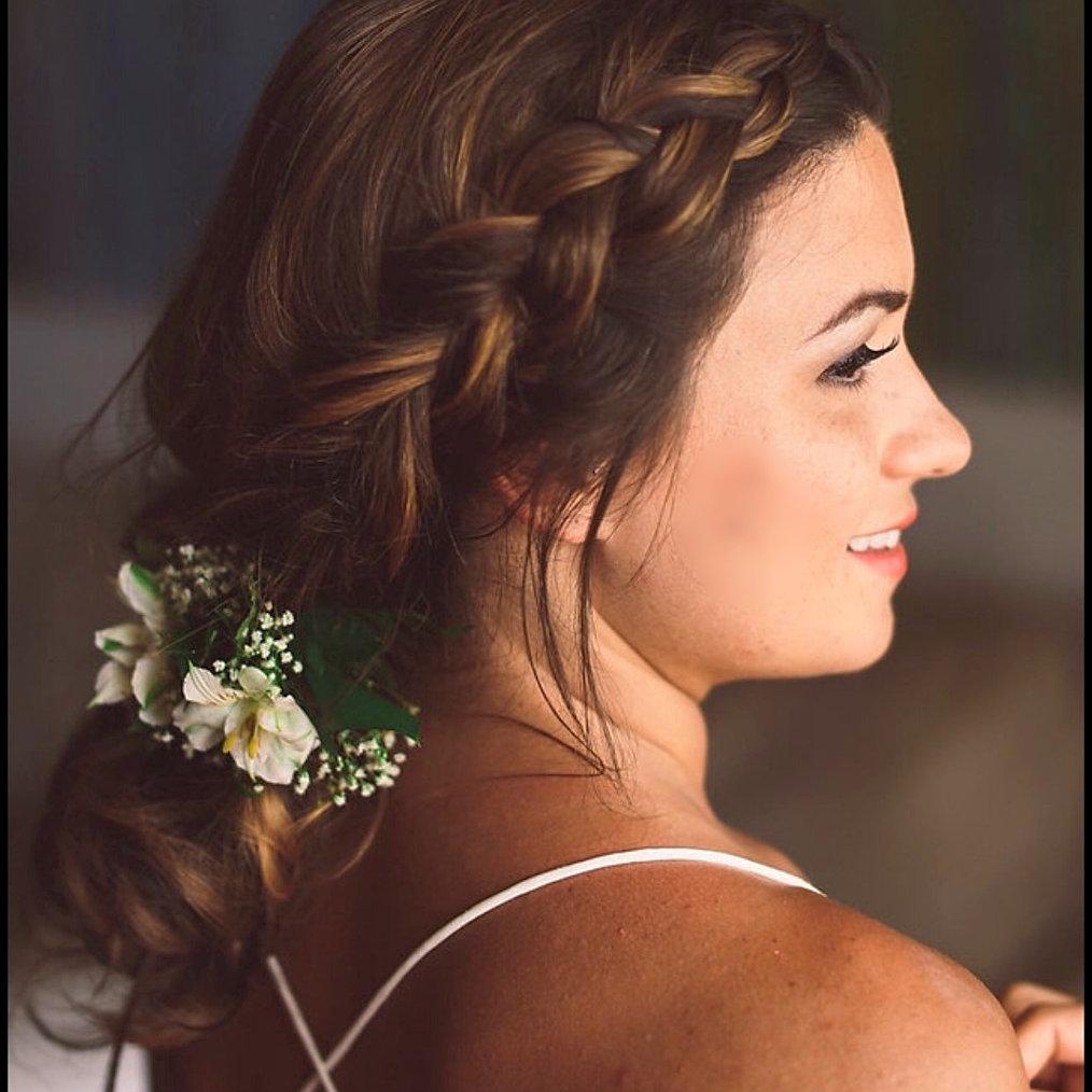 Simple Bridal Hair & Makeup