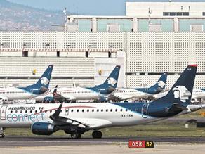 Problemas financieros de aerolíneas golpearían la competitividad de México: Coparmex y CNET