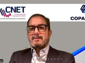 Firman CNET y Coparmex convenio turístico
