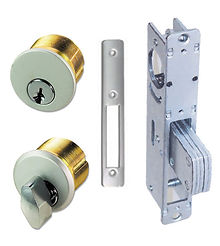 Adams Rite Lock and Mortise Cylinder