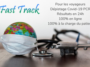 Dépistage Covid-19 PCR Fast Track