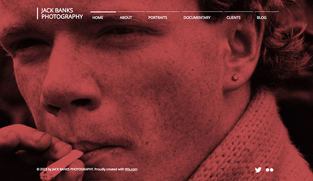 Travel & Documentary website templates – Minimal Photos