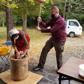 使用和紙原料體驗飲食文化|SUMAIRU工房 楮(KOZO)年糕製作體驗