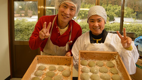 KOZO MOCHI making experience at Smile Kobo