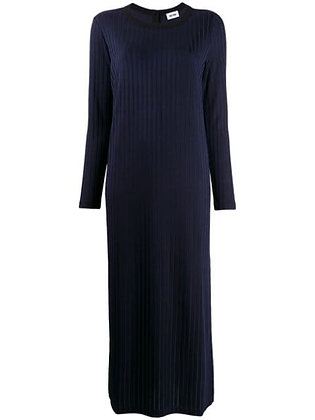 Retro Rib Jersey Dress