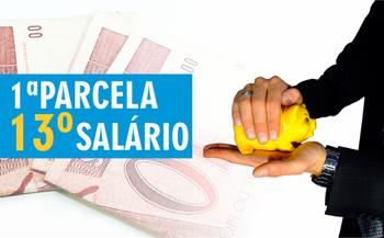 Primeira parcela do 13º será paga aos trabalhadores até 30 de novembro